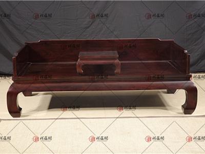 客厅红木家具 红木双人罗汉床
