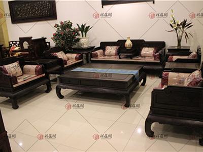 客厅红木家具 小叶紫檀红木沙发