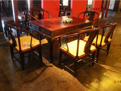 办公红木家具 经典红木茶桌椅