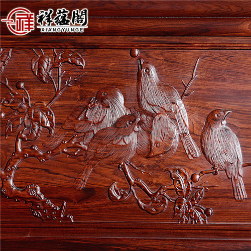 老挝红酸枝 老挝红酸枝的十一件套红木沙发