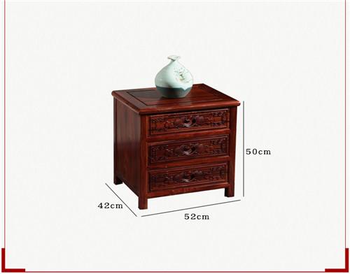 红木家具卧室家具 明清红木床