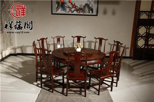 红木餐桌尺寸是否越大越好
