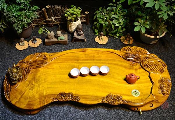 【茶海根雕】茶海根雕价格材料来源以及保养方法