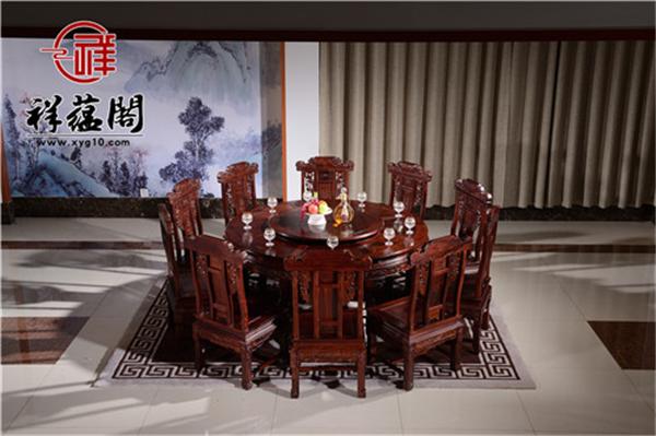 红木餐桌的保养注意事项
