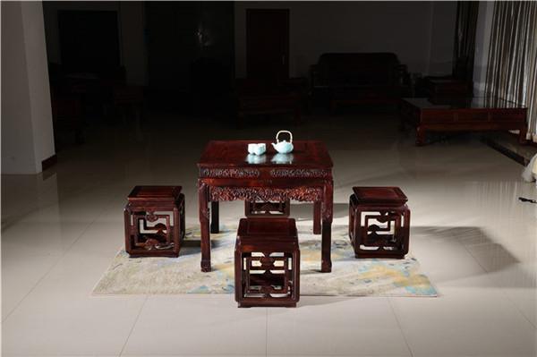 红木餐桌的文化源流