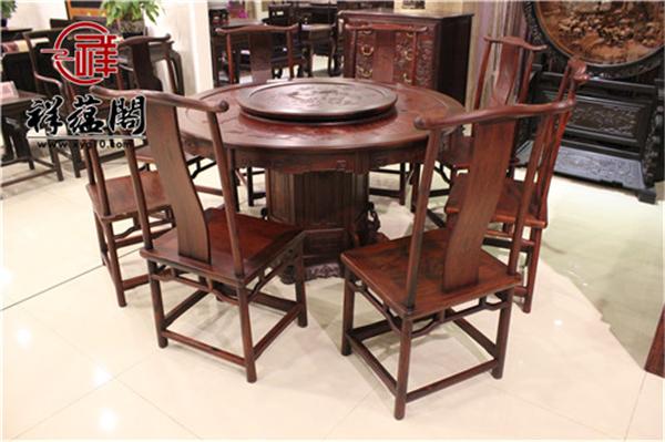 红木家具养护知识:红木餐桌怕烫吗