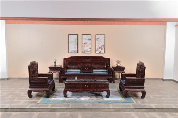 红木沙发与电视柜的搭配该如何选择