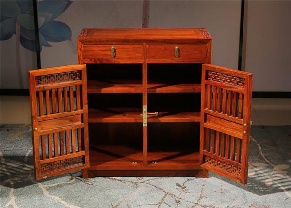 红木鞋柜什么尺寸最能彰显贵气