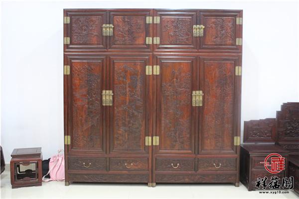 大红酸枝顶箱柜价格一般是多少 老挝大红酸枝顶箱柜如何辨别真假