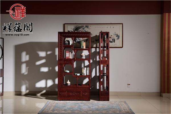 2019最新大红酸枝隔厅柜的价格 大红酸枝隔厅柜的实用性