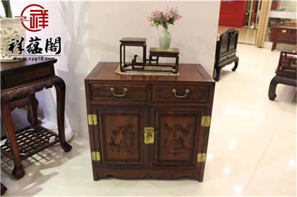2019最新老挝红酸枝隔厅柜价格  老挝红酸枝隔厅柜的功能