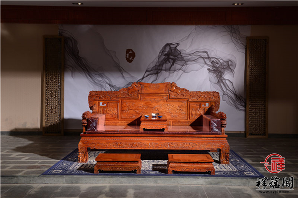 2019最新缅甸花梨贵妃椅价格  缅甸花梨贵妃椅的摆放风水