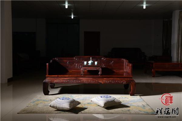 【罗汉床红木】2019新款大气红木罗汉床图片大全及最新报价