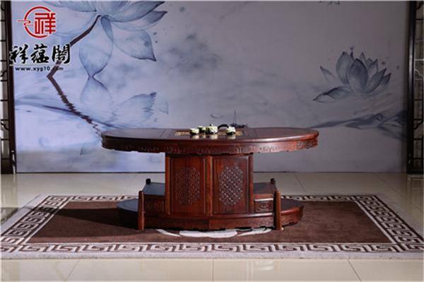 巴花大板茶桌的优点 哪种花纹的巴花大板茶桌最贵