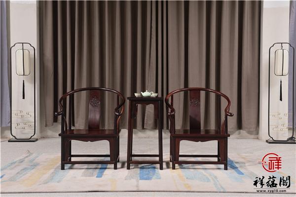 明式圈椅三件套什么材质好 明式圈椅三件套尺寸多大合适
