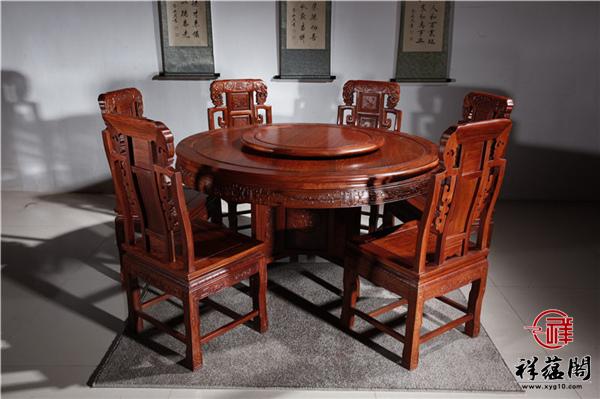 2019红木家具餐桌价格及图片欣赏【最新】