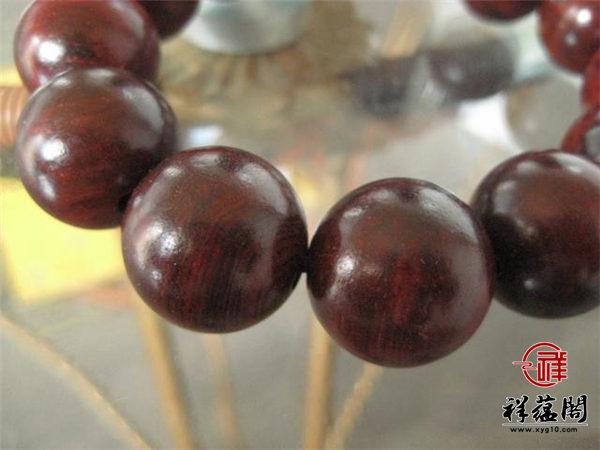老挝红酸枝木手串的好处 老挝红酸枝木手串鉴别方法