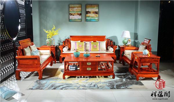 红木沙发坐垫图片大全