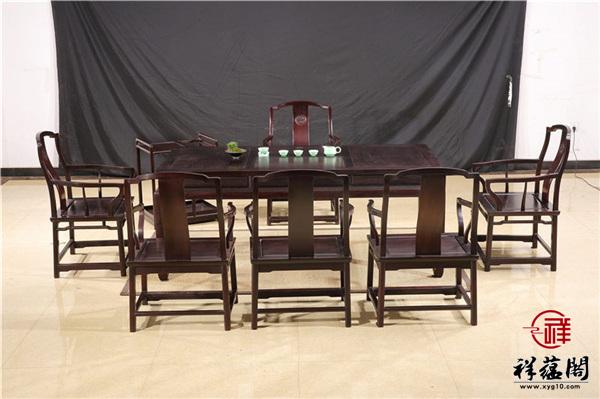 红木茶几报价以及红木茶几的保养方法