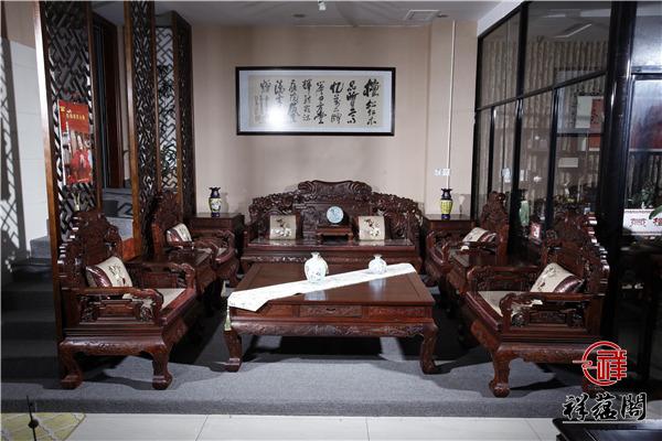 财源滚滚红木沙发价格及财源滚滚沙发图片欣赏