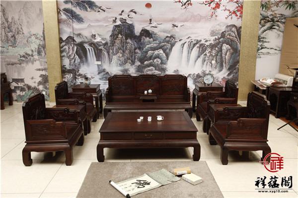 典雅古韵红木沙发价格及典雅古韵沙发图片欣赏