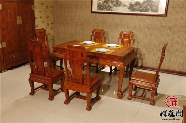 八仙过海红木餐桌价格及八仙过海餐桌图片欣赏