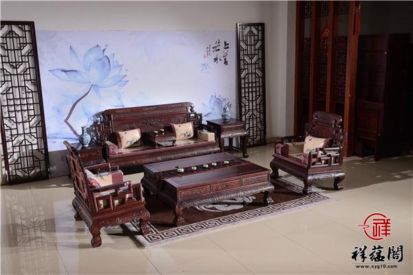 财源广聚红木沙发价格及财源广聚沙发图片欣赏