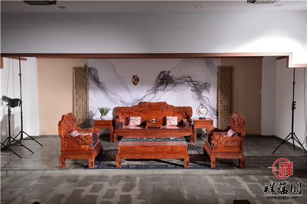 财运亨通红木沙发价格及财运亨通沙发图片欣赏