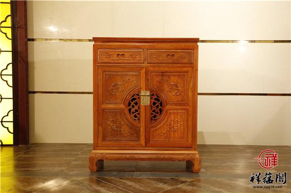 红木玄关柜配什么沙发最好看