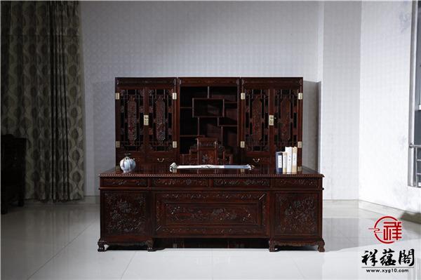 红木书柜摆什么文玩才能和书籍相得益彰