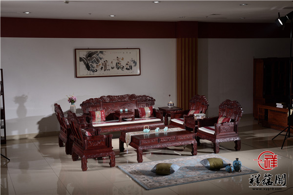 鹤立鸡群红木沙发价格及鹤立鸡群沙发图片欣赏