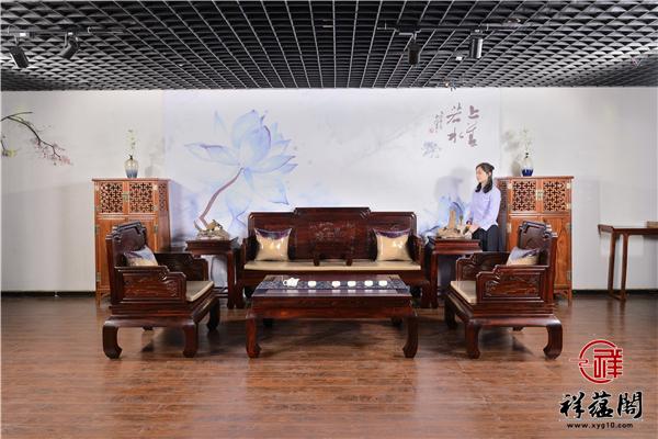 纹饰隽永红木沙发价格及纹饰隽永沙发图片欣赏
