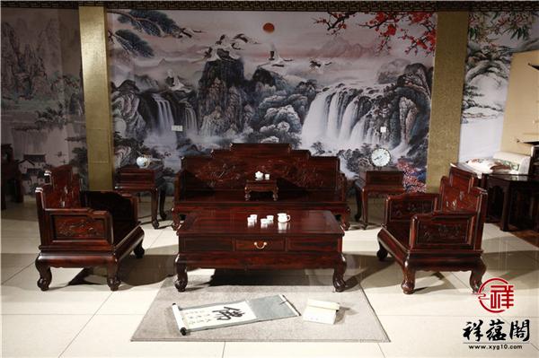 祥和宝座红木沙发价格及祥和宝座沙发图片欣赏