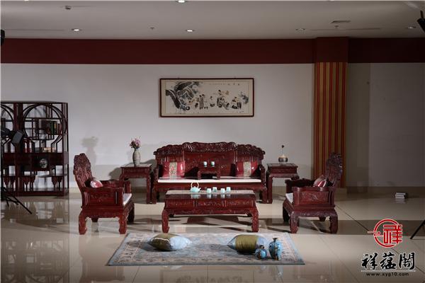 年年有余红木沙发价格及万事如意沙发图片欣赏