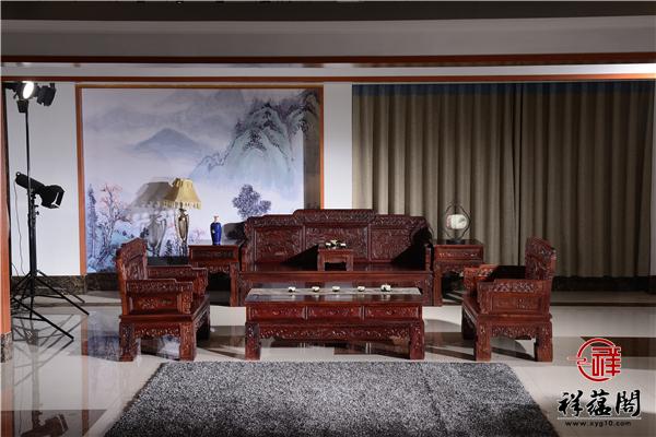 招财进宝红木沙发价格及招财进宝沙发图片欣赏