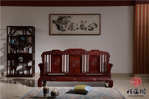红木沙发十件套尺寸 红木沙发十件套图片欣赏