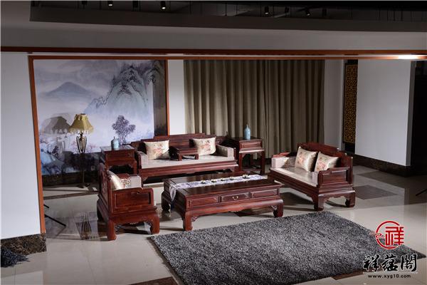 日常生活中红木沙发应该搭怎样的电视柜