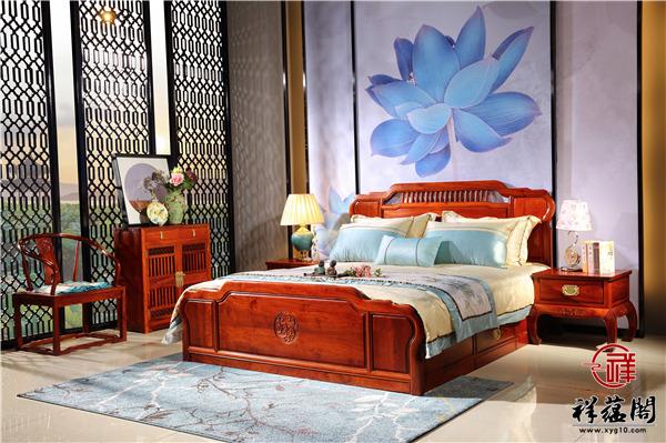 1.8米红木双人床价格及1.8米双人床图片欣赏