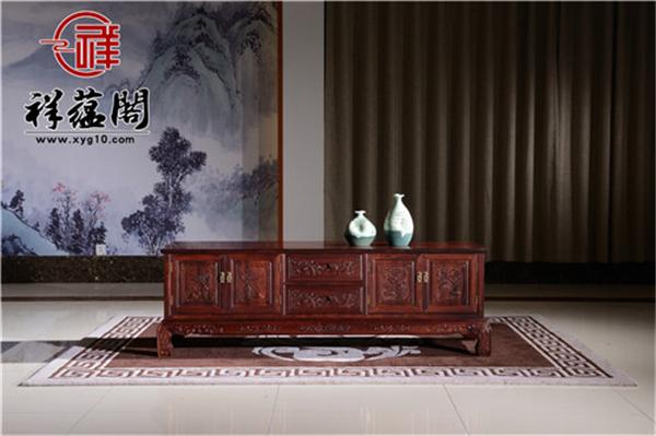 室内装修红木电视柜用什么样的比较好