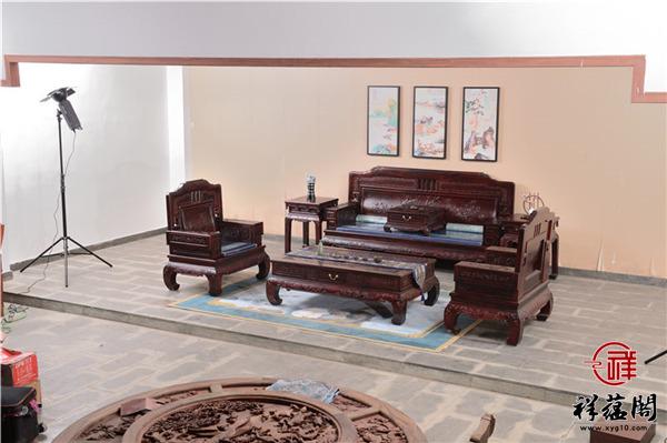 红木沙发四件套尺寸 红木沙发四件套图片欣赏