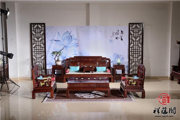 红木沙发组合三人座价格及红木沙发组合三人座图片欣赏