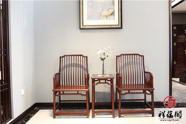 红木圈椅要选择哪种坐垫比较好