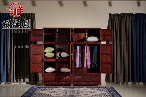 六门红木顶箱柜价格及六门红木顶箱柜图片欣赏