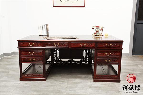 1.6米红木办公桌价格及1.6米红木办公桌图片欣赏