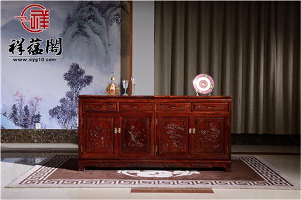 两门四抽红木储物柜价格及两门四抽红木储物柜图片欣赏