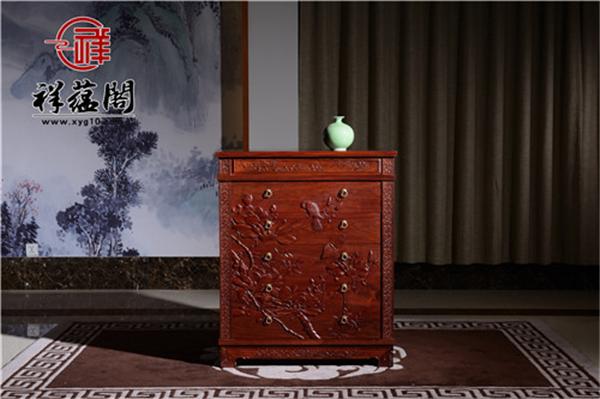 六个抽屉的红木五斗柜价格及尺寸图片