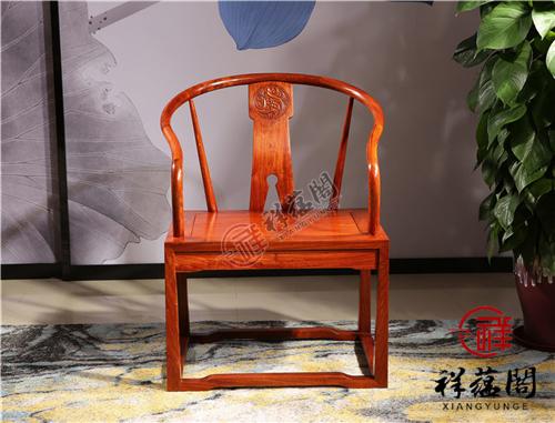 花梨木家具 花梨木圈椅