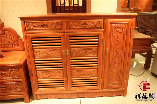 红木玄关柜是什么 红木玄关柜的作用有哪些