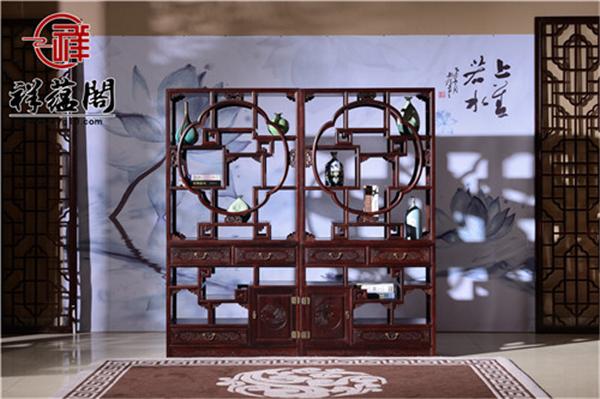 红木装饰柜有哪些 专家推荐的红木家具装饰柜大全