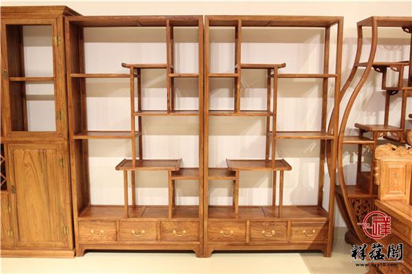 红木家具刺猬紫檀博古架怎么样